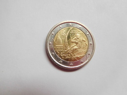Piéce 2 Euros Commémoratif 2006 , Italie , Cote : 6 Euros , Bon état - Italie