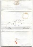REPUBBLICA ROMANA - DA SALTARA PER CITTA' - 1849. - ...-1850 Voorfilatelie