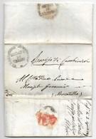 REPUBBLICA ROMANA - DA URBINO A MERCATELLO - 21.3.1849. - ...-1850 Voorfilatelie