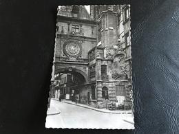 ROUEN Le Gros Horloge (1389) L'Arcade (1151) 1956 Timbrée - Rouen