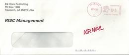 Ema Hasler - Lettre De Freedom - Aigle - Enveloppe Entière - Etats-Unis