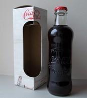- Bouteille En Verre. COCA COLA - 125 Ans. Edition Limitée - - Flessen