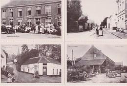 HEIST-OP-DEN-BERG-LOTJE-4 KAARTEN-TRAM+MELKERIJ+BOTERHALLE+HOTEL-HERUITGAVE-GAZET VAN ANTWERPEN/HEEMKRING-ZIE DE 4 SCANS - Heist-op-den-Berg