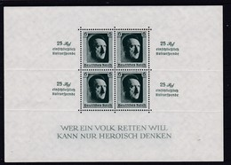 Deutsches Reich, Block 9** (K  5888b) - Deutschland