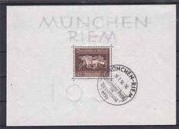 Deutsches Reich, Block 4, Gest. (K  5885d) - Deutschland