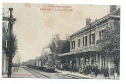 Saulieu , La Gare , Train , Locomotive à Vapeur - Saulieu