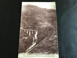 9137 - Vallée De L'Eyrieux  Route De Sta Agreve Au Cheylard Et Pont De La Gare De St Julien Boutieres - Le Cheylard