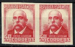 España Nº 726s Nuevos. Cat.60€ - 1931-50 Unused Stamps