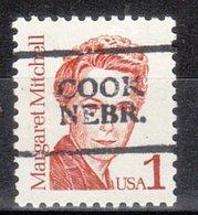 USA Precancel Vorausentwertung Preo, Locals Nebraska, Cook 701 - Vereinigte Staaten