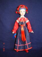 Porcelain Doll In Cloth Dress - Tula - City Province  - Russian Federation - Dolls