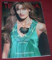 Natascha McElhone TV REVIJA Serbian February 2012 - Books, Magazines, Comics