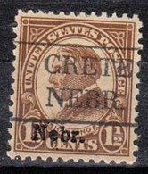 USA Precancel Vorausentwertung Preo, Locals Nebraska, Crete 670-479, Nebr. Overprint - Vereinigte Staaten