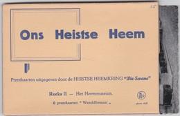 HEIST-OP-DEN-BERG-HEEMMUSEUM-VOLLEDIG-LOTJE-6 KAARTEN-HEEMKRING-ONS HEISTSE HEEM-DIE SWANE-ZIE DE 6 SCANS-MOOI! ! ! - Heist-op-den-Berg