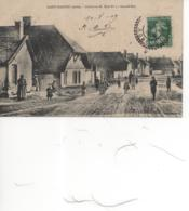 Saint-Nabord; Habitants Posant Pour La Photo Dans La Grande Rue En 1909; Réf44 - Autres Communes