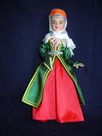 Porcelain Doll In Cloth Dress -Armenia  Republic - - Dolls