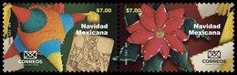 2019 MÉXICO Navidad Mexicana 2 STAMPS MNH NOCHEBUENA, PIÑATA  Mexican Christmas - Mexico