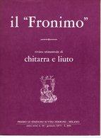 Il Fronimo Rivista Di Chitarra E Liuto N° 10 - 1975 - Muziek