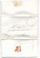 REPUBBLICA ROMANA - DA JESI APER CITTA' - 12.2.1849. - ...-1850 Voorfilatelie
