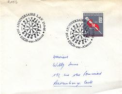 L-Luxembourg 1966. Esch-sur-Alzette Anniversaire LAV (7.152) - Luxemburg
