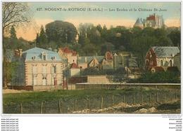 28 NOGENT-LE-ROTROU. Château Et Ecoles - Nogent Le Rotrou