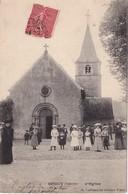 FRANCE 1906 CARTE POSTALE  DE SOUGY SUR LOIRE    L'EGLISE - France