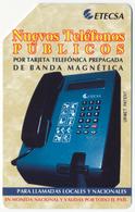 CUBA - KUBA ETECSA 3 PESOS URMET MAGNETIC PHONECARD TELECARTE TELEFONOS PUBLICOS PERFECT - Cuba