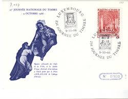 L-Luxembourg 1966. Journêe Du Timbre (7.154) - Lettres & Documents