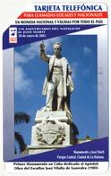 CUBA - KUBA ETECSA 3 PESOS URMET MAGNETIC PHONECARD TELECARTE JOSE MARTI PERFECT - Cuba
