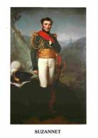 Histoire - Peinture - Portrait - Généraux Vendéens - Comte De Suzannet - Carte Neuve - Voir Scans Recto-Verso - Geschiedenis