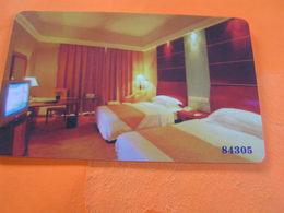 CHINA Used Hotel Key Card  84305 Hotel China - Hotelsleutels (kaarten)