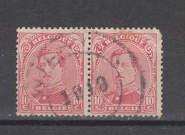 COB 138 Oblitération De Fortune WILRYCK En Paire - 1915-1920 Albert I