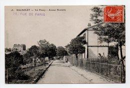 - CPA BAGNOLET (93) - Val Fleury - Avenue Henriette 1908 - - Bagnolet