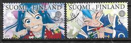 Finlande 2019 N° 2590/2591 Oblitérés Mangas - Finland