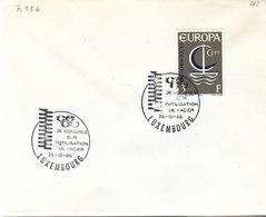 L-Luxembourg 1966. Congrès Acier (7.156) - Luxemburg