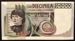 10000 LIRE DEL CASTAGNO 30 10 1976 SUP/FDS + 10000 LIRE DEL CASTAGNO 06 09 1980 SUP/FDS LOTTO 1472 - 10000 Lire