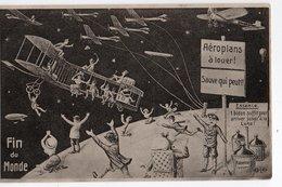 FIN DU MONDE *19 MAI 1910 *AEROPLANS A LOUER * BONBONNE * HUMOUR * CARTE OFFICIELLE * F.M. COLOGNE - Humor
