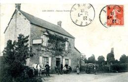 N°1623 T -cpa Les Choux -maison Boscheron- - France
