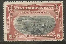 Belgian Congo - 1895 Port Of Matadi 5c Used   Sc 15 - 1894-1923 Mols: Used
