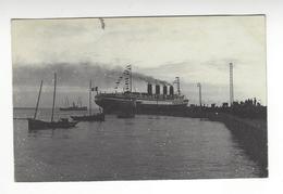 SAINT NAZAIRE PAQUEBOT LE FRANCE LANCEMENT 1912 CARTE PHOTO ARCHIVE DORE /FREE SHIPPING R - Saint Nazaire