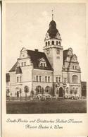 Stadt-Archiv Und Städtisches Rollett-Museum, Kurort Baden B. Wien (008075) - Baden Bei Wien