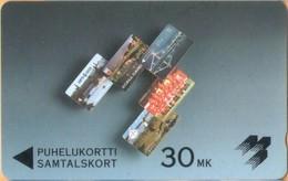 Finland - GPT, NOK C, Phonecard Montage NOKIA, 30mk, 2,500ex, Used - Finlandia