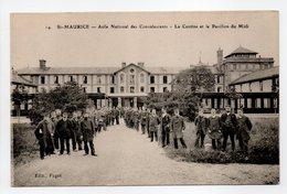 - CPA SAINT-MAURICE (94) - Asile National Des Convalescents - La Cantine Et Le Pavillon Du Midi (belle Animation) - - Saint Maurice