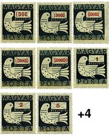 Ref. 63891 * MNH * - HUNGARY. 1946. DOVE . PALOMA - Unclassified
