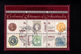 916268533 1990  SCOTT 1180G FIRST DAY CANCEL - COLONIAL STAMPS OF AUSTRALIA - Used Stamps