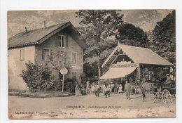 - CPA CHINDRIEUX (73) - Café-Restaurant De La Gare 1904 (belle Animation) - - France