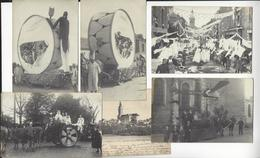 SAVENAY 6 CPA DONT 5 CARTES PHOTO FETE ATTELAGE ARCHIVE DORE /FREE SHIPPING R - Savenay