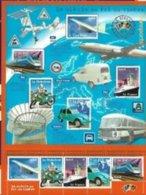 FRANCE 2002 BLOC BF 47 LE SIECLE AU FIL DU TIMBRE Neuf N°5 TRANSPORTS ET VOYAGE Avec Son Livret** - Mint/Hinged