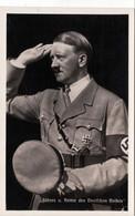 """III. Reich, Propaganda  Karte, """" Führer Und Retter Des Deutschen Volkes """" - Weltkrieg 1939-45"""