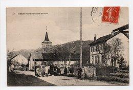 - CPA BRENTHONNE (74) - La Grande Rue 1908 (avec Personnages) - - Andere Gemeenten