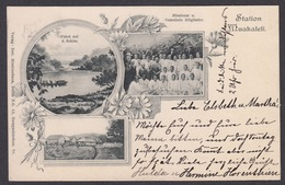 AK - DSWA - Deutsch-Süd-West-Afrika, Station Muakaleli, 1902 - Ehemalige Dt. Kolonien
